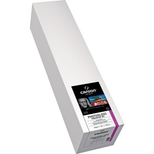 "Canson Infinity PhotoGloss Premium Resin Coated 270 Archival Inkjet Paper (24"" x 15' Roll)"