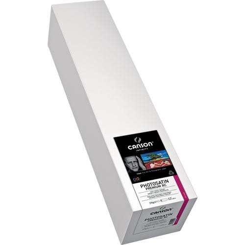 "Canson Infinity PhotoSatin Premium RC 270 Archival Photo Inkjet Paper (24"" x 10' Roll)"