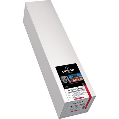 """Canson Infinity Museum Canvas Water Resistant Matte 440gsm 24"""" x 10'"""
