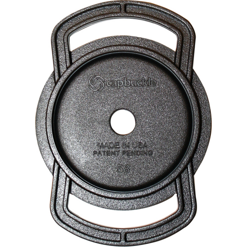 CapBuckle Lens Cap Holder (Holds 67mm, 58mm, 52mm Lens Caps)