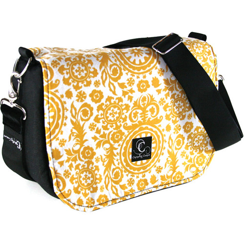 Capturing Couture Penelope Collection: Penelope Sun Camera Bag (Yellow Floral)