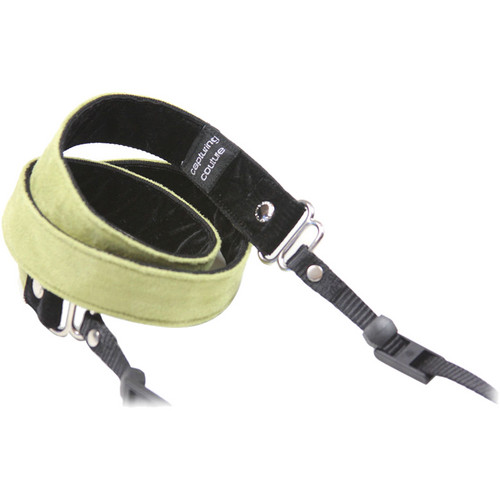 """Capturing Couture Felicity 1"""" SLR Couture Camera Strap (Lime)"""