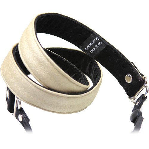 """Capturing Couture Felicity 1"""" SLR Couture Camera Strap (Shimmer)"""