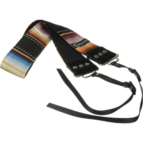 "Capturing Couture Artisan Collection: Navajo Black 2"" SLR/DSLR Camera Strap"