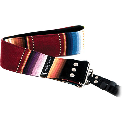 "Capturing Couture Artisan Collection: Navajo Red 2"" SLR/DSLR Camera Strap"