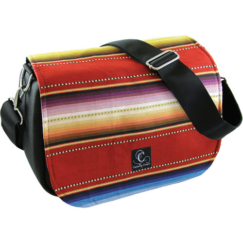 Capturing Couture Navajo Red Camera Bag