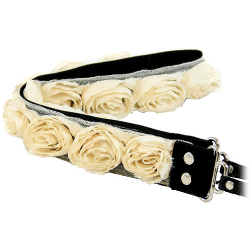 Capturing Couture Organza Camera Strap (Cream/Off White)