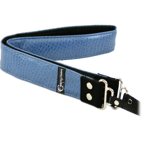 Capturing Couture Animal Collection: Ostrich Ocean Camera Strap