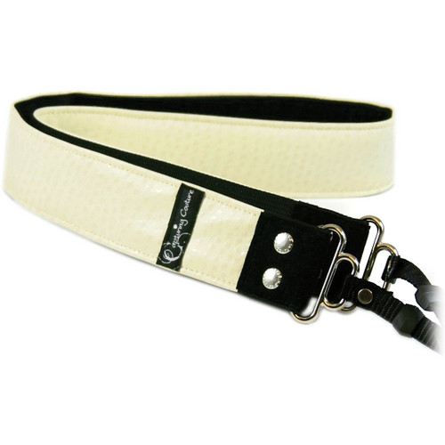 Capturing Couture Animal Collection: Ostrich Vanilla Camera Strap