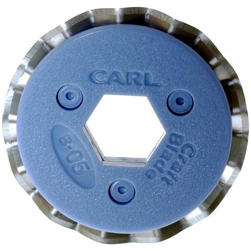 """Carl #B-05 """"Pinking"""" Pattern Craft Blade for CC-10 and RT-200 Trimmers"""
