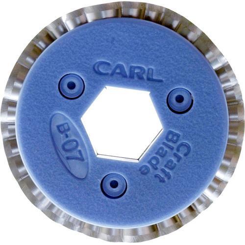 """Carl #B-07 """"Squiggle"""" Pattern Craft Blade"""