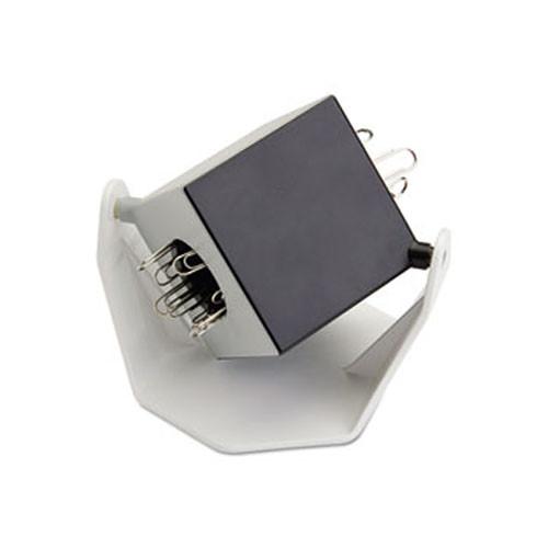 Carl 2-Compartment Magnetic Paper Clip Dispenser