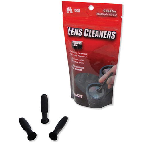 Carson C6 - CS-70 Disposable Lens Cleaners (Pack of 12)