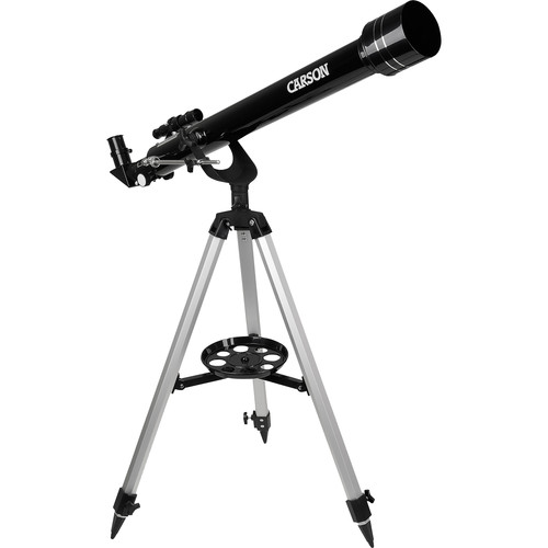 "Carson JC-1000 2.4""/60mm Refractor Telescope Kit"