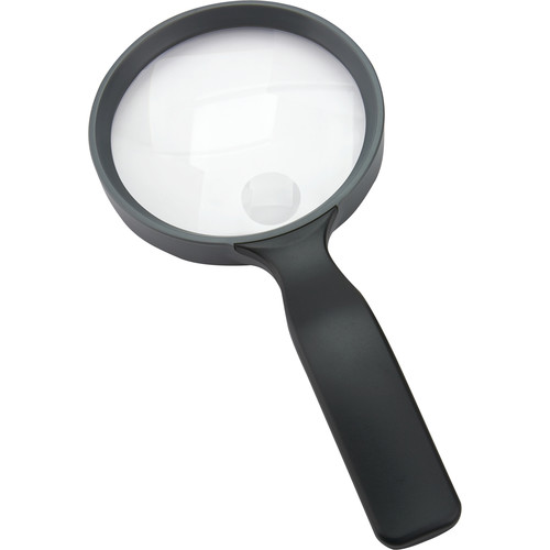 Carson JS-24 2x Handheld Magnifier with 3.5x Power Spot