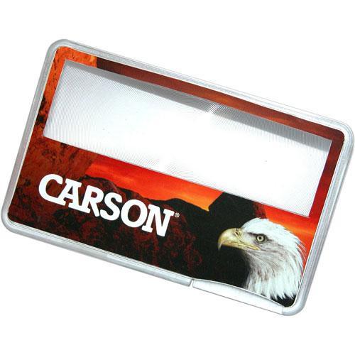 Carson MC-99C 3x MagniCard LED Magnifier