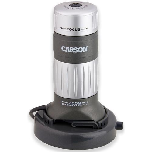 Carson MM-640 zPix Digital Microscope (Gray/Black)
