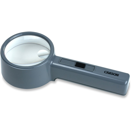 Carson PT-90 2x MagniTop Magnifier with 4x Power Spot