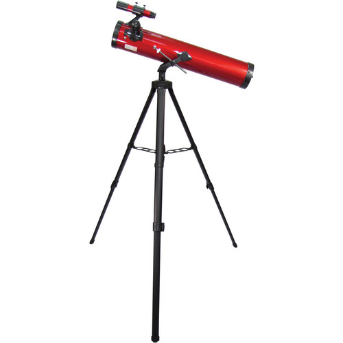 Carson RedPlanet 35-88 x 76mm Newtonian Reflector Telescope