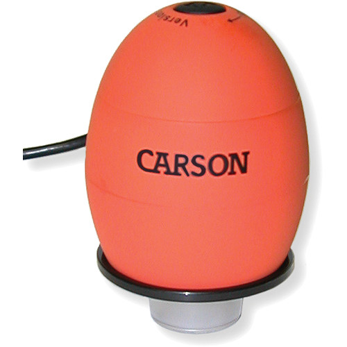 Carson zOrb Digital Microscope (Lava Orange)