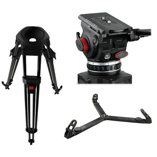 Cartoni Delta Rosso Head Tripod System