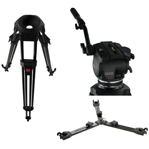 Cartoni Focus HD Fluid Head & Tripod Legs