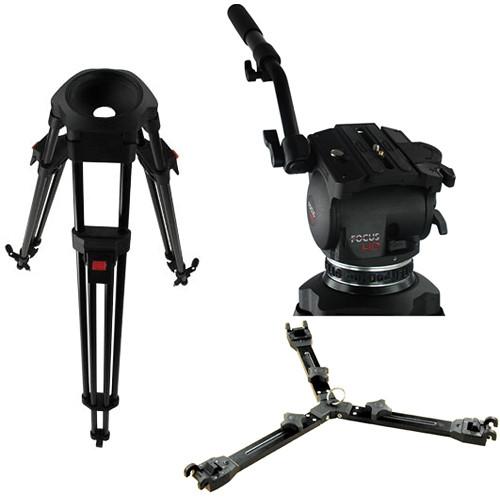 Cartoni Focus HD Fluid Head & Tripod Legs