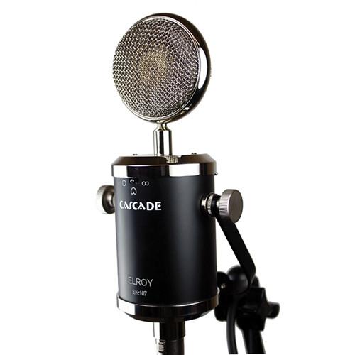 Cascade Microphones Elroy Multi-Pattern Tube Condenser Microphone