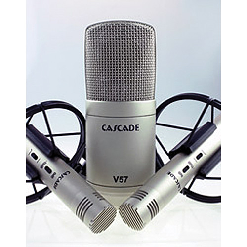 Cascade Microphones V57 Microphone Bundle (Silver)