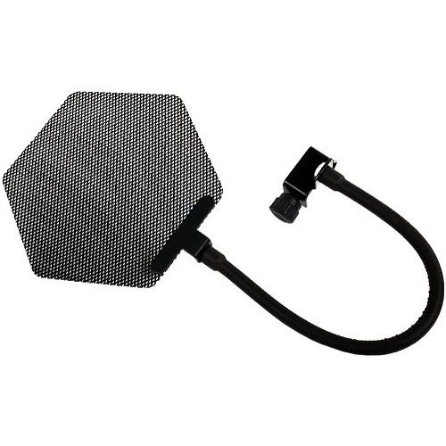 Cascade Microphones PF-1 Metal Hexagon Pop-Filter