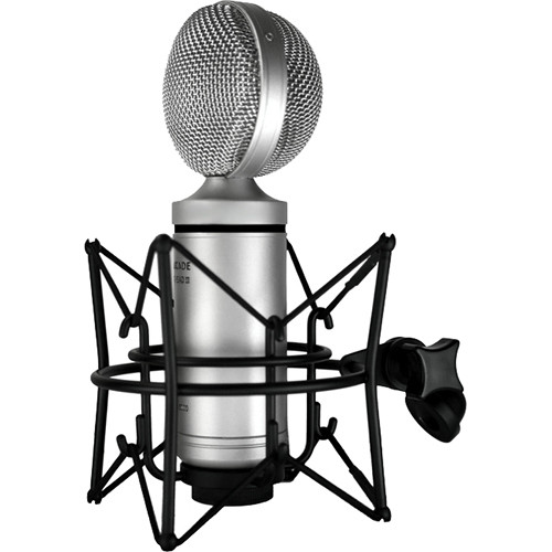 Cascade Microphones FAT HEAD II Active/Passive Ribbon Microphone (Silver)