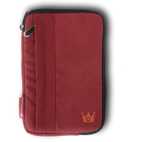 CaseCrown Faux Suede Tablet Case (Red)
