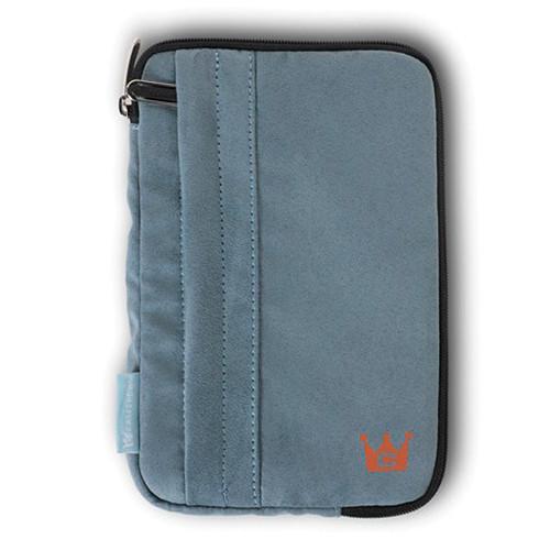 CaseCrown Faux Suede Tablet Case (Gray)