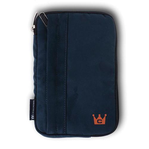 CaseCrown Faux Suede Tablet Case (Navy)