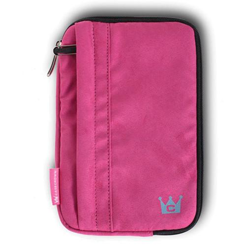 CaseCrown Faux Suede Tablet Case (Pink)