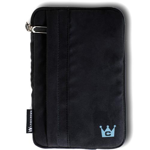 CaseCrown Faux Suede Tablet Case (Black)