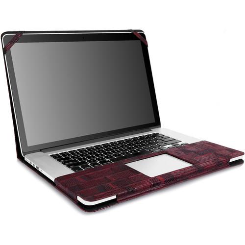 """CaseCrown 15"""" Safari Bookcover Case (Red)"""