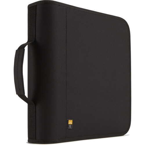 Case Logic CDW-208 208 Capacity CD Wallet (Black)