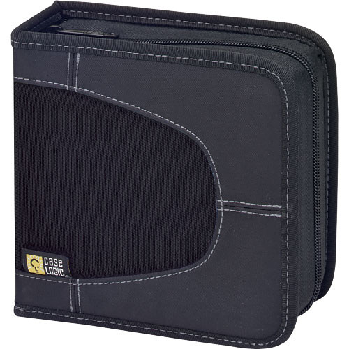 Case Logic CDW-16 16 Capacity CD Wallet (Black)