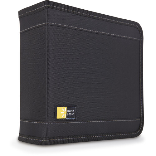 Case Logic CDW-32 32 Capacity CD Wallet (Black)