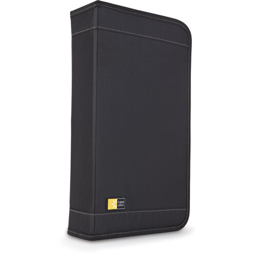 Case Logic CDW-64 64 Capacity CD Wallet (Black)