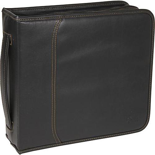 Case Logic KSW-208 208 Capacity CD Wallet - holds 208 + 16 CDs or DVDs without Jewel Cases (Black Koskin)