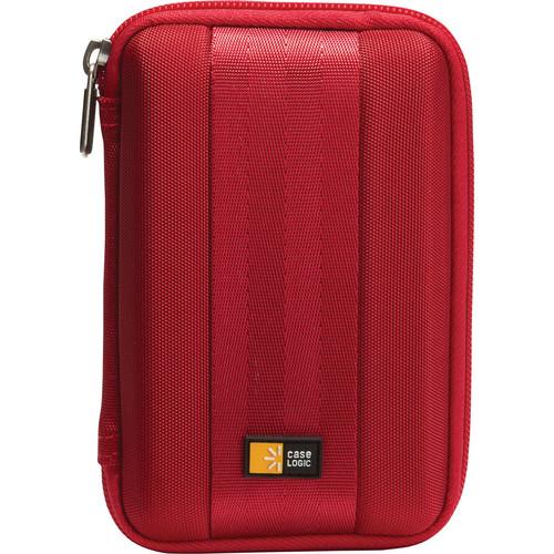 Case Logic QHDC-101 Portable Hard Drive Case (Red)