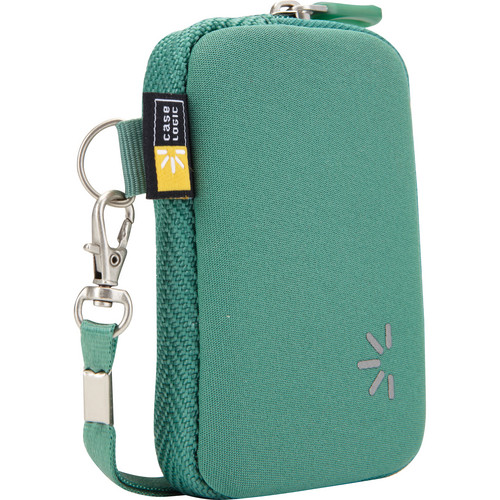Case Logic UNZB-202 Point and Shoot Camera Case (Green)