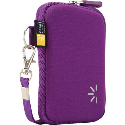 Case Logic UNZB-202 Point and Shoot Camera Case (Purple)