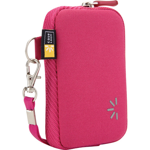 Case Logic UNZB-202 Point and Shoot Camera Case (Pink)