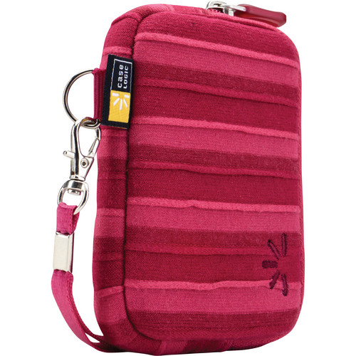 Case Logic UNZT-202 Point and Shoot Camera Case (Pink)