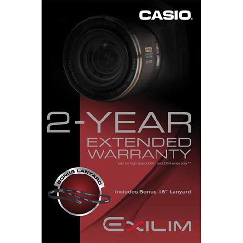 Casio 2-Year Extended Digital Camera Warranty