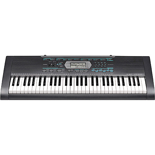 casio ctk 2100 61 key portable keyboard ctk2100 b h photo. Black Bedroom Furniture Sets. Home Design Ideas