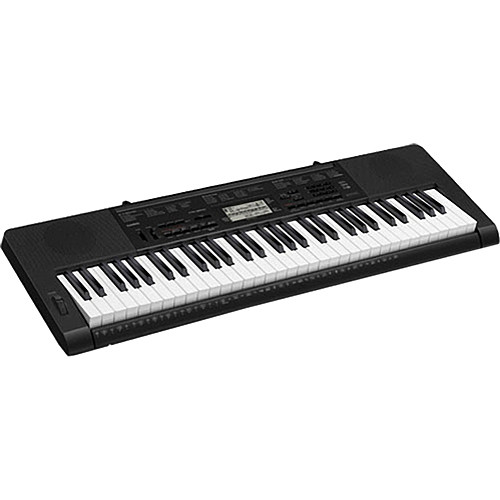 Casio CTK-3200 - 61 Key Portable Keyboard with Piano-Style Keys